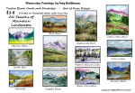 Amy Beidleman Variety of Mountain Landscapes Signature Greeting Cards